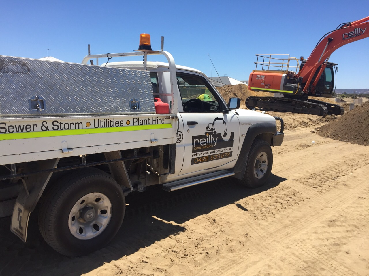 Deliveries to Construction Sites