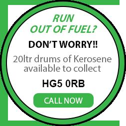 20L Keosene drums logo